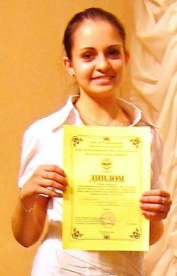 Савчина Александра  ученица 10 класса средней школы №34