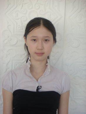 Ауезханова Айдана  ученица СОШ №35