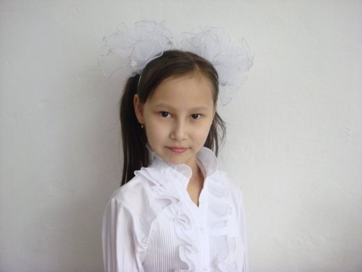 Бектемирова Айдана  ученица СОШ №35