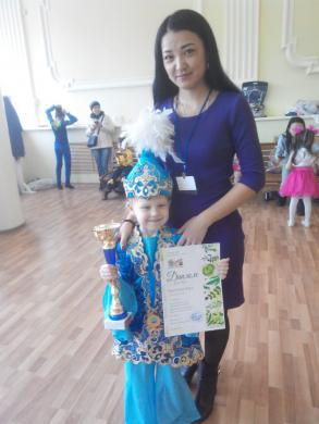 «Dionis» атты  халықаралық сайысында  Гранпри иегерін ұтып алды.