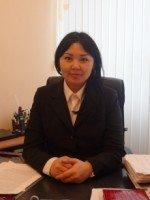 Абиева Айнура Базарбаевна – главный специалист сектора дошкольных учреждений