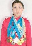 Касенова Азалия, 2007 жыл түлегі